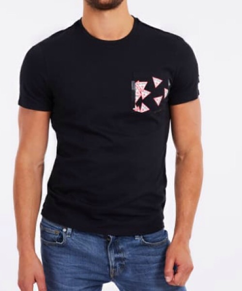 T-SHIRT TASCA STAMPATA Guess